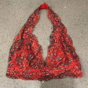 Pins and Needles Red Bra